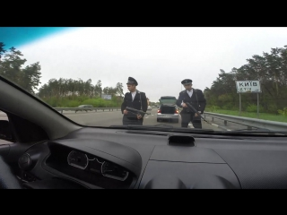 на дорогах Киева