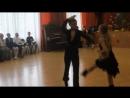 День учителя 2016 год.Солисты танцевального клуба Динамо .Якшин Даниил и Гусева Кристина.Танец История жизни .