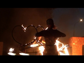Fire Show inFlames