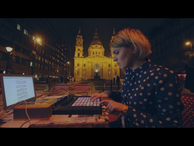 Olya Dibrova plays Liszt on Ableton Push