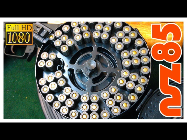 AK-47 How To Load A Drum Mag (HD)