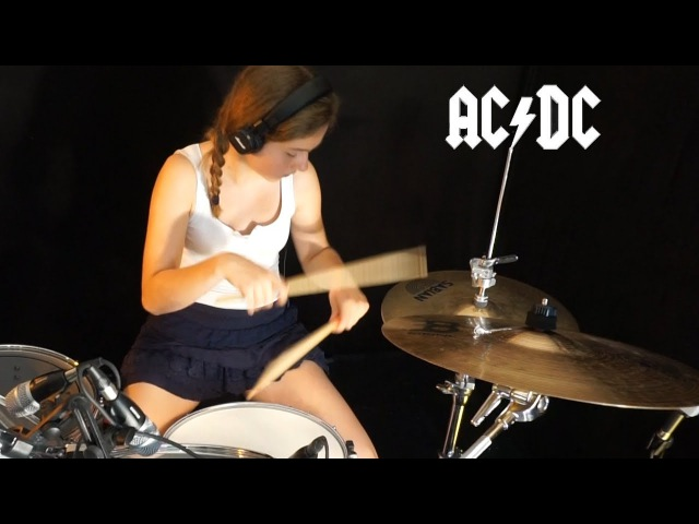 ACDC - Whole Lotta Rosie Drum Cover by Sina
