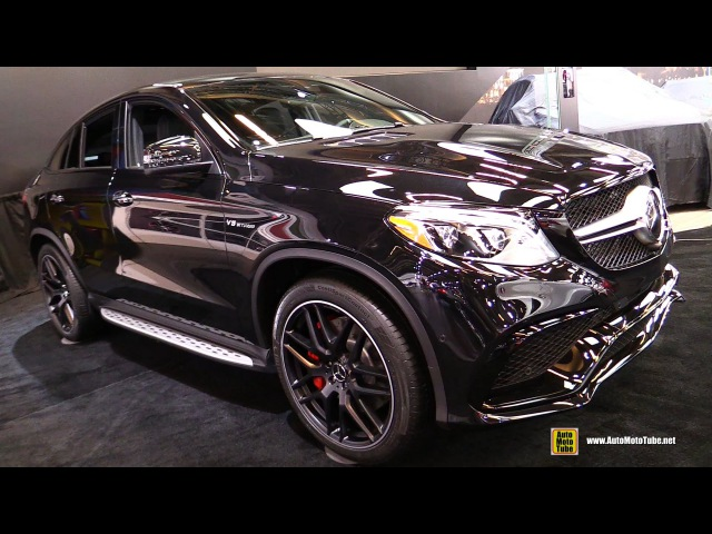 2016 Mercedes AMG GLE 63 S 4Matic Coupe - Exterior and Interior Walkaround - 2016 Montreal Auto Show