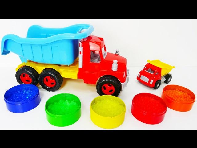 Riko et le petit camion apprennent les couleurs. Video éducative