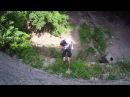 Дюльфер: скоростной спуск по отвесной стене || Abseil: a controlled descent of a vertical drop