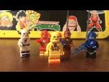 Обзор Фигурок Лего Флеш Обратный Флеш Доктор Зум DC comics Lego Flash Review Super Hero