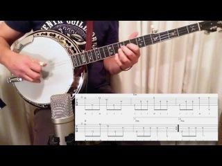 The Swallowtail Jig: Melodic Banjo Lesson (Free TAB)
