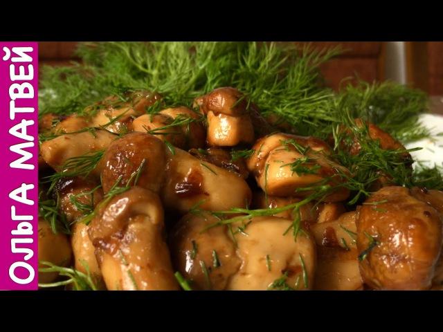 Блогер GConstr в восторге Белые Грибы Вкусный Рецепт Fried Mushrooms Recipe От Ольги Матвея