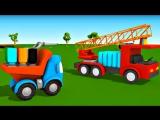 Новый мультик. Грузовичок Лева и пожарная машина. Мультфильмы для малышей про машинки