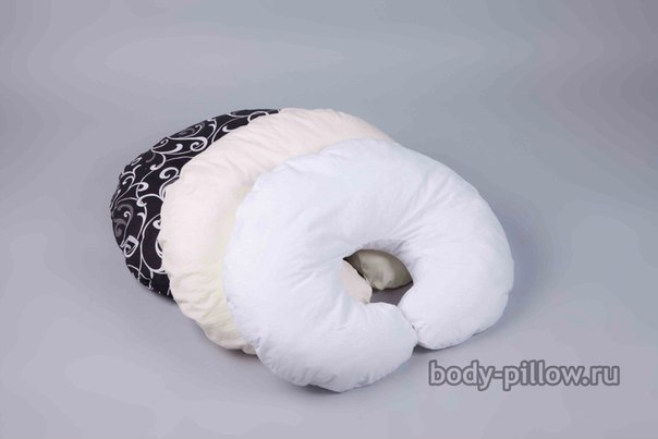 Подушка для кормления Рогалик