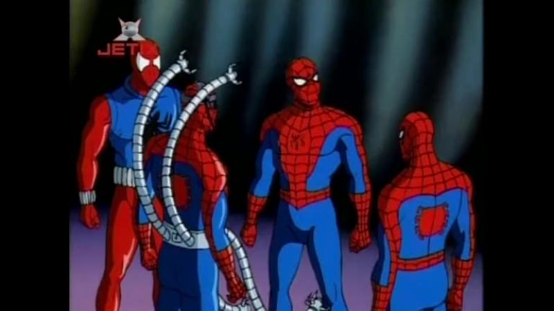 Человек паук 1994 года Сезон 5 Серия 13 Паучьи войны 2 Прощай Человек Паук