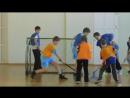 Скимен 2 - Старт на турнире по флорболу. Саранск 5 мая 2016 год.
