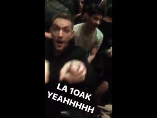 Луи и Стив в клубе