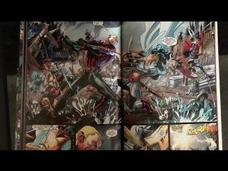 Буктрейлер по серии комиксов издательства DC Comics Flashpoint
