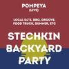 STECHKIN BACKYARD PARTY w/ Pompeya (live)