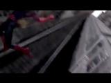 Вырезанный момент с битвы на крыше поезда с Доктор Октавиусом