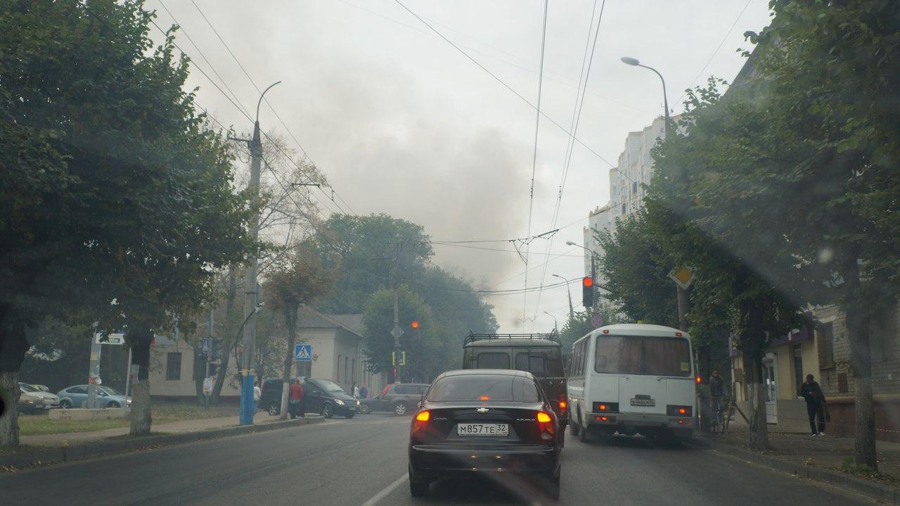 Хозяин сгоревшего вцентре Брянска «исторического дома» сказал, кто устроил пожар