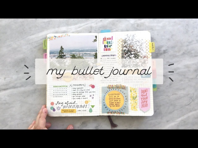 My bullet journal: a flip-through cheyenne barton