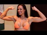 Bikini Fitness Model Workout with IFBB Pro Christina Fjaere   Fitness Babes