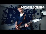 Captain America The Winter Soldier Theme on Guitar