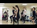 На занятии по хореографии (модерн). Хрустальный , 15.01.2017 (2)