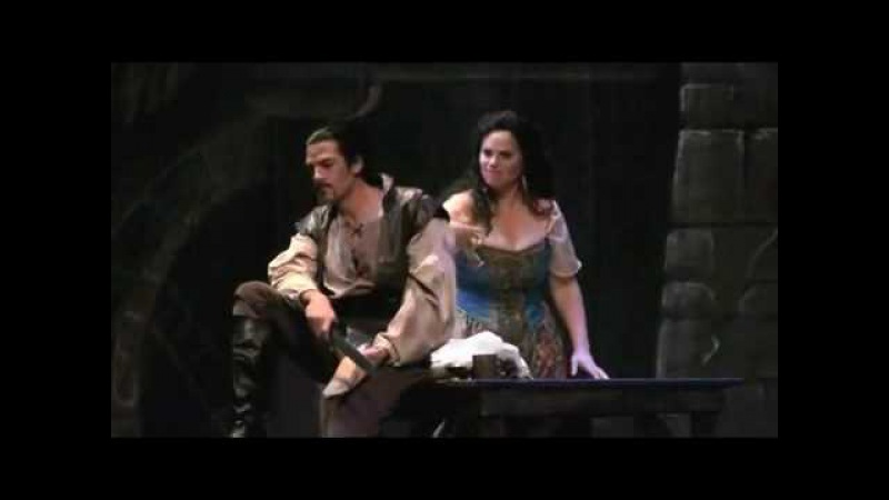 Bass Matthew Treviño as Sparafucile - Rigoletto Storm Trio (Dress Rehearsal)