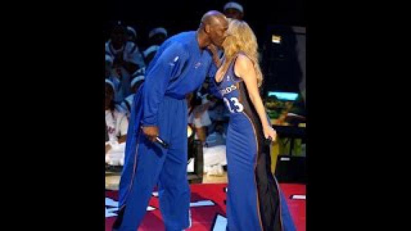 Mariah Carey Performes Hero MJ Age 39 Almost Cries @ 2003 All Star Half Time Break