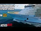 Dji phantom 4 4K lonnng range live cruise ship chase 🚢🚁 LIVE BROADCAST 10 2 16