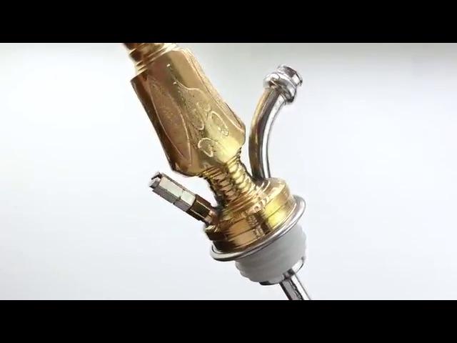 Кальян Khalil Mamoon Double Kamanja Gold