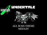 All Undertale Boss Theme Medley Genocide - 4-Piano Orchestra - Undertale