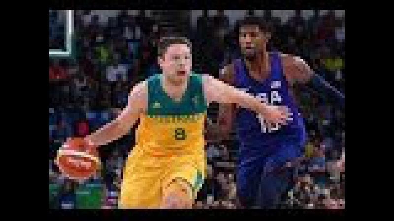 Team USA wins vs Australia 98 88 Rio Olympics 2016 Basketball