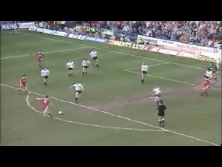 Derby County vs Liverpool 1-7 Season 1990/91
