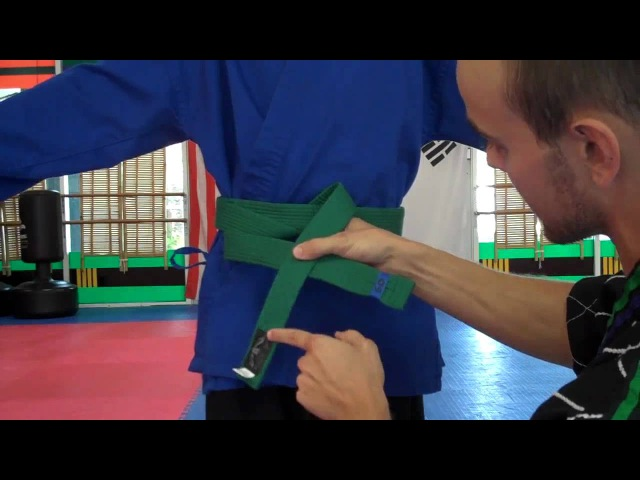 How to Tie a Students Taekwondo Belt A Guide for Parents and Instructors