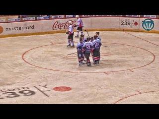 Белые Медведи vs Омские Ястребы - 2:0. 8 Января 2017