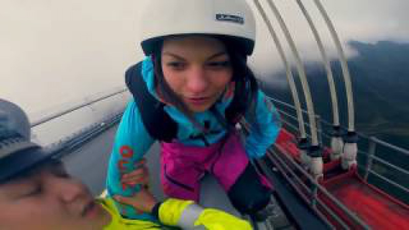Zero Fox Given Police Grab BASE Jumper, But She Jumps Anyways hd720 mp4