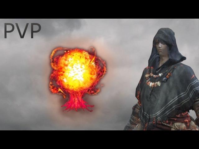 Dark Souls 3 - Pyromancer PvP - Pure Pyromancy Build