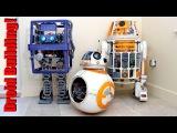 Star Wars Robot Droids - 3D Printed Mechanics with Arduino Electronics, BB-8, GONK R6 - XRobots