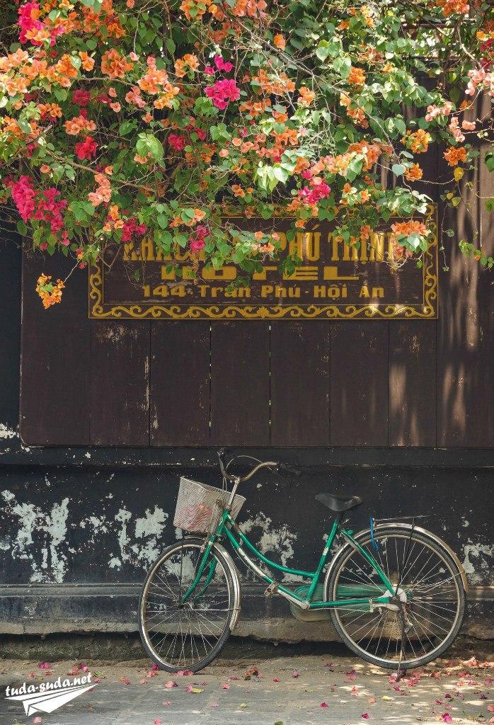 Велосипед в Хойане