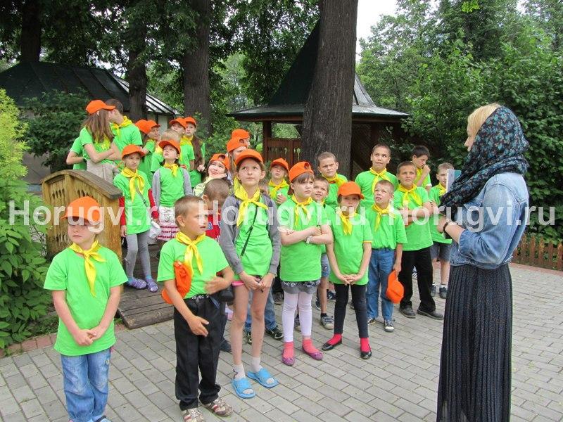 Экскурсия для детей Центра социальной помощи семье и детям
