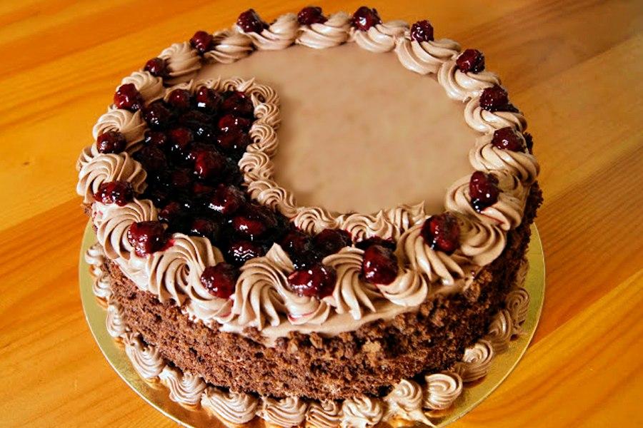 Праздничный торт Крем-Брюле