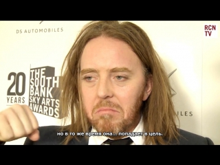 """ rus subs  tim minchin interview before performing """"seeing you""""  from """"groundhog day"""" the musical"""