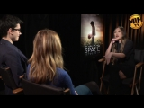 Britt Robertson Asa Butterfield Interview The Space Between Us