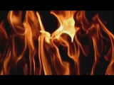 Slow motion fire 600fps upscaled to 1080p seamless loop V07212u
