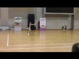 спортивная аэробика Сергеева Ольга 11-13 лет