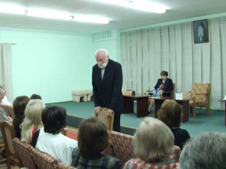 Презентация книги А.К. Хомича «Жизнь в молитве и любви»