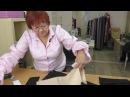 Юбка из бархата для женщин с узкими бедрами Учимся работать с бархатом Моделирование юбки Часть 2