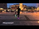 Man Cutting Shapes on Barcelona City House Shuffle Electric Styles Guerrero Jah