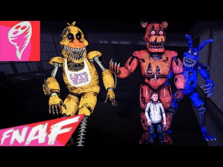 (SFM FNAF) FIVE NIGHTS AT FREDDY'S 4 SONG (TONIGHT WE'RE NOT ALONE by Ben Schuller) FNAF Music Video