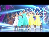 Танцы. Битва сезонов: Танец девушек (Fleur East - Sax) (серия 4)
