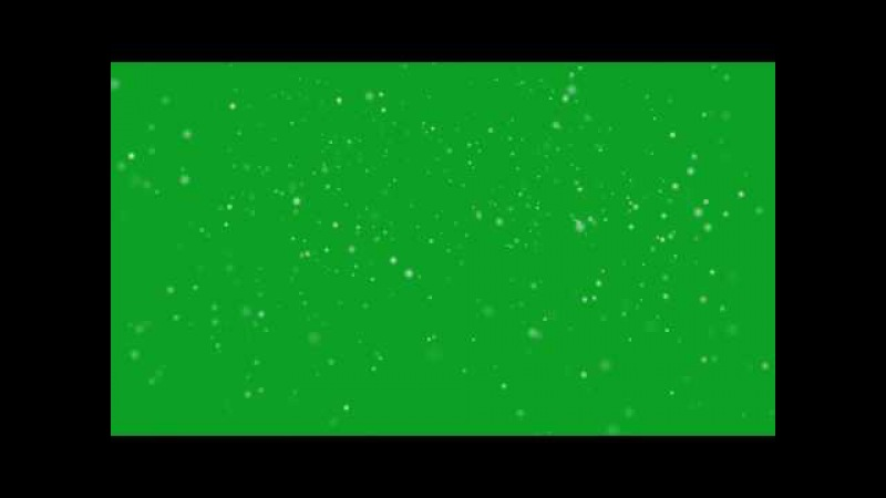 Snowing Green Screen Green Screen Chroma Key Effects AAE